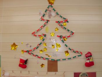 クリスマス壁面飾り: あゆみ ... : クリスマス壁飾り折り紙 : 折り紙